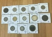 FRANCE DISCOUNTED COIN LOT   SEE DESCRIPTION FOR DETAILS