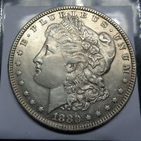 ALMOST UNCIRCULATED 1880 O NEW ORLEANS SILVER MORGAN $1 DOLLAR C.C.C. LISTING