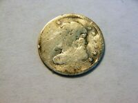 1836 SILVER CAPPED BUST HALF DIME,   LOW PRICED VINTAGE FILLER COIN