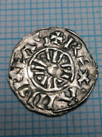 ANDREAS I MEDIEVAL CRUSAIDER CROSS SILVER BEAUTIFUL COIN EU
