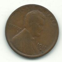 A GOOD/ GOOD CONDITION 1917 D LINCOLN CENT-OLD COIN-JAN614
