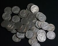 LOT OF 50 FULL DATE BUFFALO INDIAN HEAD NICKELS 5C COINS   2