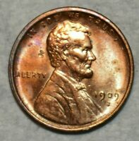 UNCIRCULATED 1909 S VDB LINCOLN CENT SHARP KEY DATE SPECIMEN