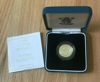 1999 GREAT BRITAIN 1 ONE POUND SILVER PROOF   NEW IN BOX WITH COA