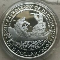 2005 SHAWNEE TRIBE US NATIVE AMERICAN SILVER 1 OZ ROUND   PROOF