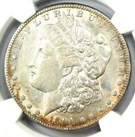 1894-S MORGAN SILVER DOLLAR $1 COIN - CERTIFIED NGC EXTRA FINE 45 -  DATE - LOOKS AU