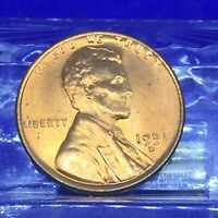 1951 D LINCOLN WHEAT CENT HIGH MS GRADE BEAUTIFUL BLAZER 1