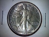 1939 AU WALKING LIBERTY HALF DOLLAR