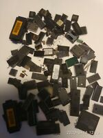 178G MIXED BATCH MICRO CHIPS AND OTHER FOR GOLD RECOVERY