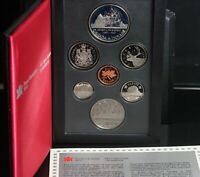ROYAL CANADIAN MINT 7 COIN PROOF SET 400TH ANNIVERSARY DAVIS