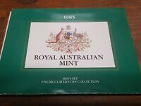 1985 ROYAL AUSTRALIAN MINT   MINT SET UNCIRCULATED COIN COLL
