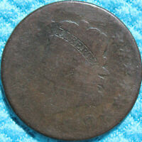 1810/9 S 281 OVER DATE LARGE CENT    AG