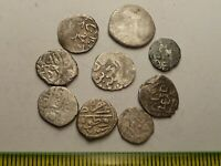 3125LOT OF 9 ANCIENT ISLAMIC SILVER COINS