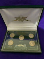 BEAUTIFUL 2010 P NATIONAL PARKS UNCIRCULATED QUARTERS BOXED