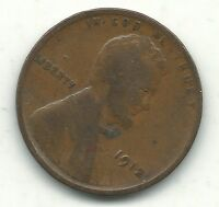 GOOD/ GOOD CONDITION 1912 P LINCOLN CENT-OLD COIN-JAN607