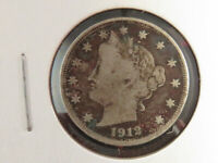 1912-D LIBERTY NICKEL WITH VF DETAILS