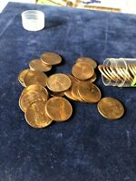 1945-D BU ROLL OF LINCOLN CENTS 50 COINS