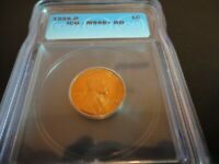 1955-D LINCOLN WHEAT CENT ICG MINT STATE 66 RED VALUED AT $1200