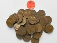 1956 D LINCOLN WHEAT CENT - ONE 1 COIN FROM THE COINS PICTURED