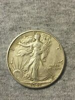 1941-S 50C WALKING LIBERTY HALF DOLLAR