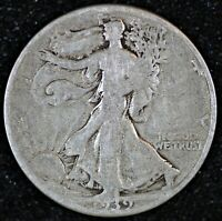 1939 WALKING LIBERTY HALF DOLLAR  INV. W398