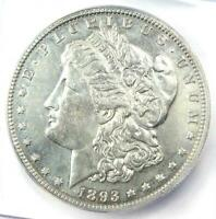 1893 MORGAN SILVER DOLLAR $1 VAM-4 - CERTIFIED ICG EXTRA FINE 45 DETAILS -  DATE