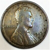 1909 S VDB LINCOLN WHEAT CENT PENNY BEAUTIFUL HIGH GRADE COI