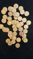 50 LINCOLN CENTS 1919 AND EARLIER