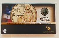 2014 COIN & CURRENCY SET WITH ENHANCED UNCIRCULATED NATIVE AMERICAN $1  OGP