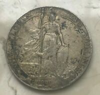 1909 GREAT BRITAIN 1 ONE FLORIN   SILVER