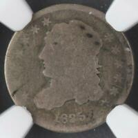 1835 CAPPED BUST HALF DIME NGC AG 3 - LOW BALL - DOUBLEJCOINS 3003-98