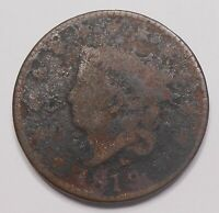 UNITED STATES 1819 LARGE CENT G   EARLY LIBERTY HEAD MATRON USA PENNY