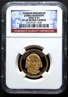 2007 S PRESIDENT MADISON PRESIDENTIAL PROOF, NGC PF69