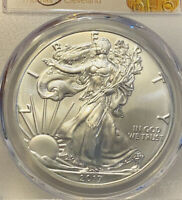 2017 S PCGS MS70 AMERICAN SILVER EAGLE THOMAS CLEVELAND GRADED CERTIFIED GEM