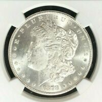 1878-S MORGAN SILVER DOLLAR-NGC MINT STATE 64 BEAUTIFUL COINREF95-013