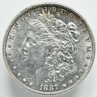 1887 P MORGAN DOLLAR VAM 12 ALLIGATOR EYE