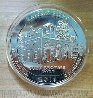 2016 5 OZ SILVER BULLION HARPERS FERRY AMERICA THE BEAUTIFUL COIN