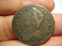 GREAT BRITAIN   1/2  PENNY  1739