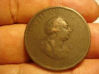 GREAT BRITAIN   1/2  PENNY  1799