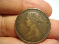 GREAT BRITAIN   1/2  PENNY  1862
