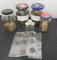 COLLECTION OF VINTAGE PENNIES AND HALF PENNIES BRITISH CURRE