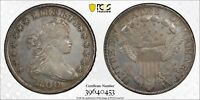 1800 DRAPED BUST AMERICAI $1 SILVER DOLLAR GRADED PCGS AU DETAIL -