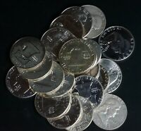 LOT OF 20 FRANKLIN 90  SILVER HALF DOLLARS 50C COINS   $10 F