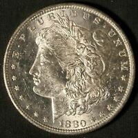 1880-S MORGAN SILVER DOLLAR - SHIPS FREE USA