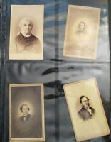 1864 66 US NUMERIOUS PHOTOGRAPHS W/PROPRIETARY TAX STAMPS AF