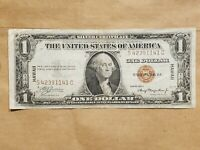 1935 A HAWAII $1 EMERGENCY NOTE SILVER CERTIFICATE WORLD WAR 2 LY FINE EF
