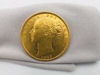 GREAT BRITAIN 1883 SYDNEY SHIELD GOLD SOVEREIGN