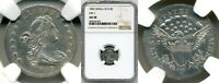 1803-P DRAPED BUST HALF DIME - SMALL 8 VARIETY -- NGC AU58