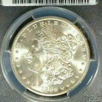 1898-O MORGAN SILVER DOLLAR  PCGS MINT STATE 64 BEAUTIFUL COIN REF8544