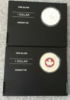 CANADA   2006 SILVER DOLLAR MEDAL OF BRAVERY   2 COINS  PLAI